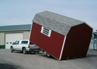 Shed moving service