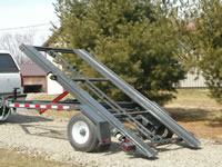12 foot pup trailer